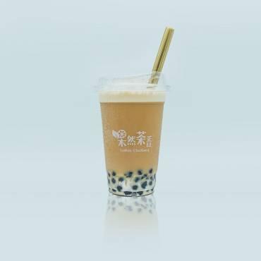氮氣冷萃珍珠紅茶拿鐵Nitro Cold Brew Bubble Black Tea Latte